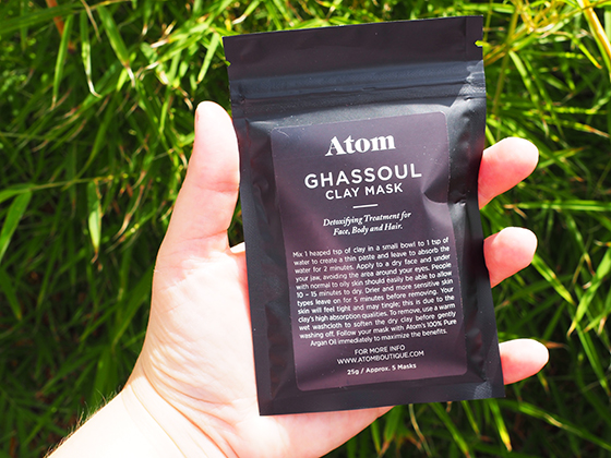 Atom Ghassoul Clay Mask