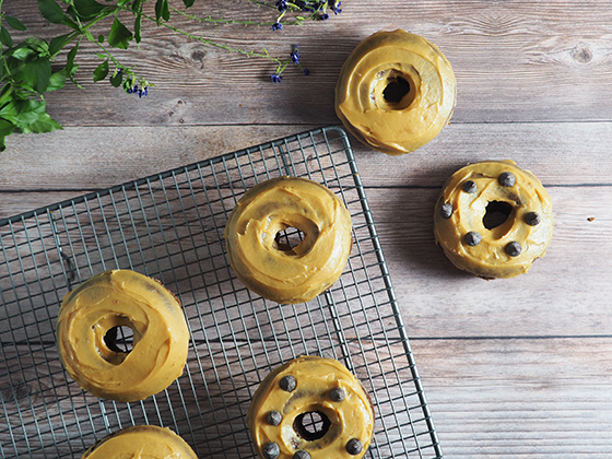 Chocolate & Peanut Butter Donuts