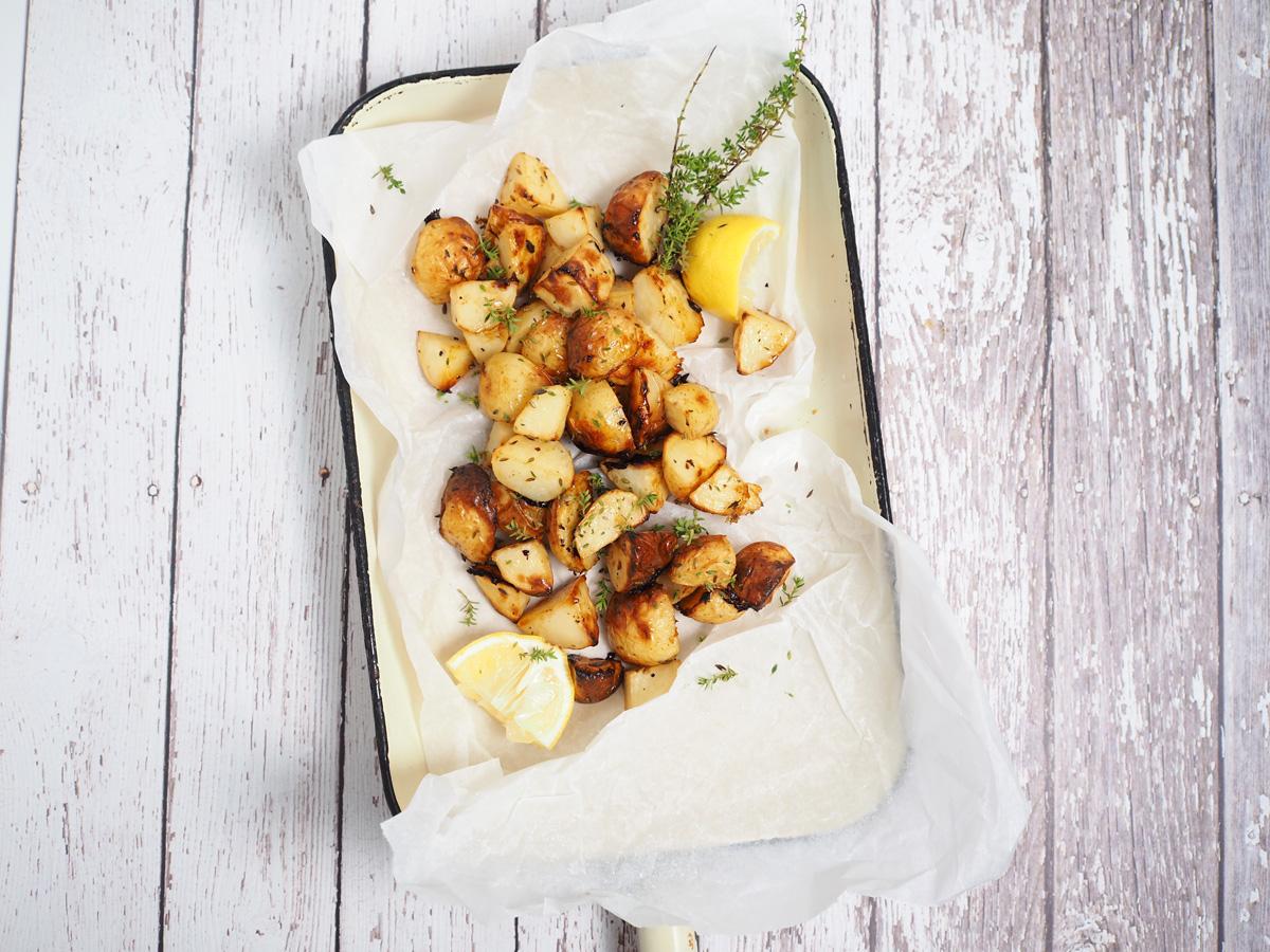 Lemon Thyme Potatoes