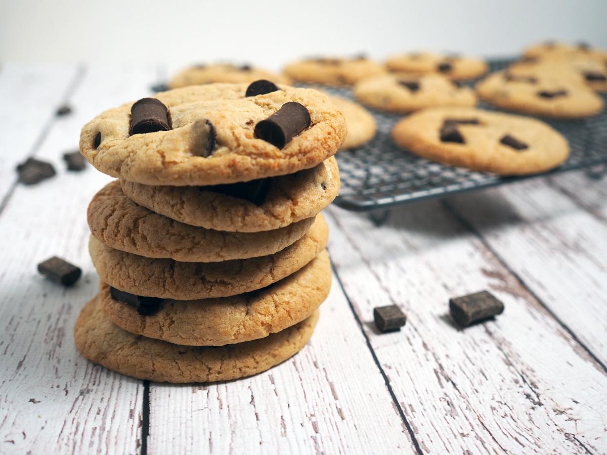Coconut Choc Chunk Cookies