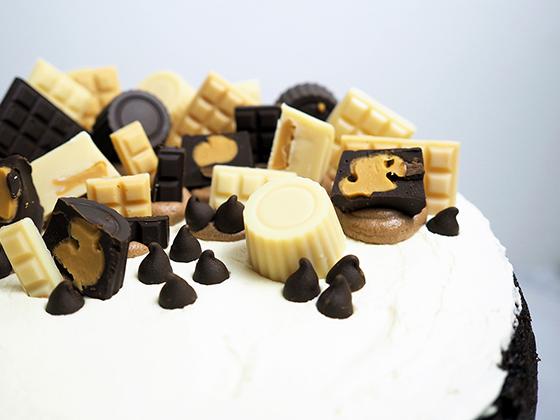 Choc PB Cake