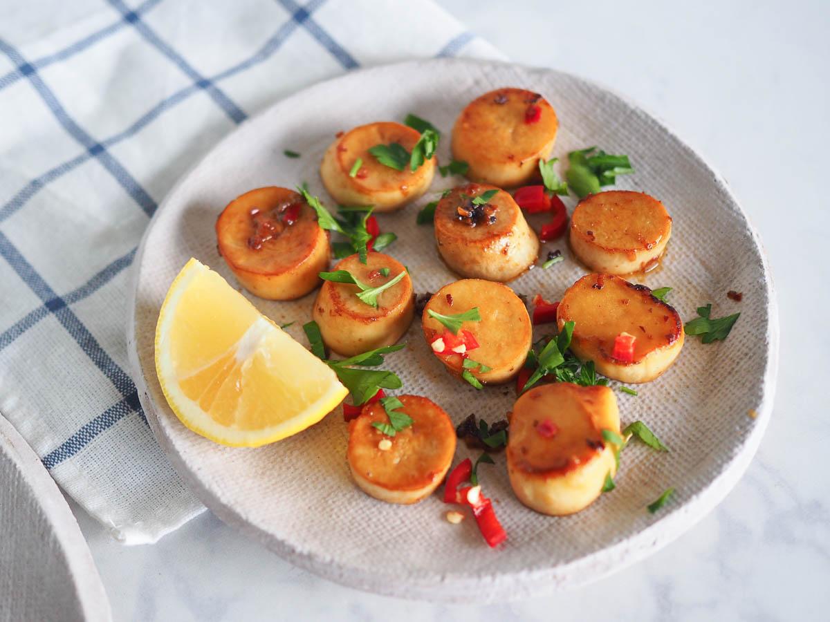 Mushroom Scallops